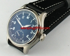 GARTON 47mm Black Dial Special@6 Lume 6497Hand Winding  461