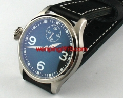 Garton 47mm Black Dial Lefty hand winding 6497 E470