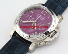 40mm violet dial Full chronograph WATCH E1226