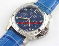 40mm blue dial Full chronograph WATCH E1227