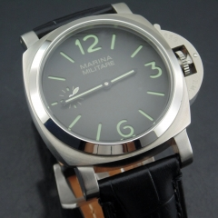 44mm style 6497 hand winding watch 1839