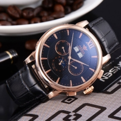 42mm Ossna Black Dial Rose Gold  Automatic Men multifunction WATCH 1859