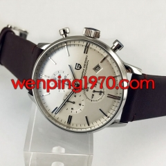 Pagani Design 43mm White Dial Chronograph Japanese Quartz Men's watch 2216