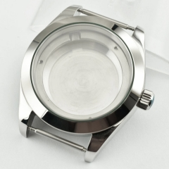 40mm 316L steel stainlessl silver Watch Case fit ETA 2824 2836 movement P707
