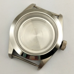 41mm steel watch case fit MIYOTA 8215 mingzhu DG2813/3804 movement P746
