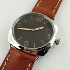 47MM 1950 Style sterile Dial Swan Neck Watch M725-S