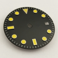 28.5mm Watch Dial Fit Mingzhu 2813/3804,Miyota 8215 8205 Movement P796-N