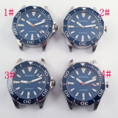 With logo 45mm blue dial blue bezel Sapphire glass miyota 8215 Automatic Watch 2648
