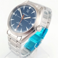 41MM Corgeut blue dial Sapphire crystal Miyota 821A Automatic mens Watch 2866