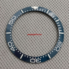 38mm blue ceramic bezel insert luminous for 40mm submariner watch P918-2#