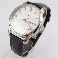 Corgeut 40mm white Dial Sapphire glass Miyota Automatic Men's Wrist watch 2974