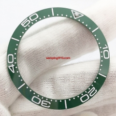 New style 38mm green ceramic bezel insert for 40mm automatic watch P300-89