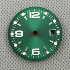 31.5mm sterile Green watch Dial Fit ETA 2836/2824 DG2813/3804 Miyota 8215 821A 8205 automatic movement