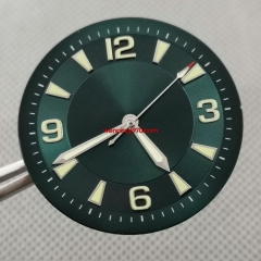 33.5mm sterile Green Watch Dial with Hands fit ETA 2824/2836 Movement