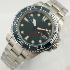 40mm luminous sterile navy blue dial date window 316L stainless steel oyster bracelet DG2813 automatic movement men's watch