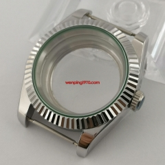 316L steel 40mm sapphire glass automatic Watch Case fit NH35 NH36 Movement